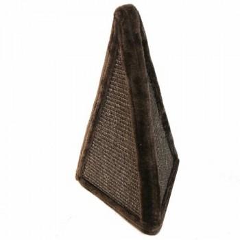 Pet Choice / Пет Чойс Когтеточка-пирамида 24х24х40, коричневый