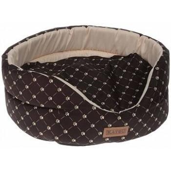 Katsu / Катсу YOHANKA SHINE CAT PAW лежак для животных коричнево-бежевый размер 4 58х52х20 см