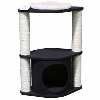 Pet Choice / Пет Чойс Когтеточка-комплекс 46х30х60, черный