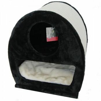 Pet Choice / Пет Чойс Когтеточка-домик 45х40х50, черный