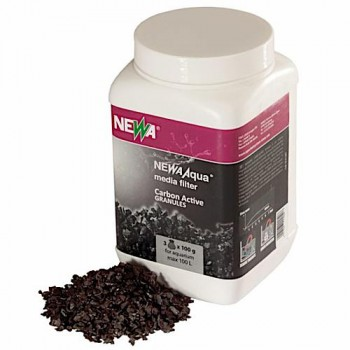 Newa Наполнитель для фильтра аквариума Aqua CARBO-ACTIVE, гранулы, 300 гр