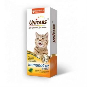 Unitabs / Юнитабс ImmunoCat Паста с таурином для кошек от 1 года до 8 лет 150 гр