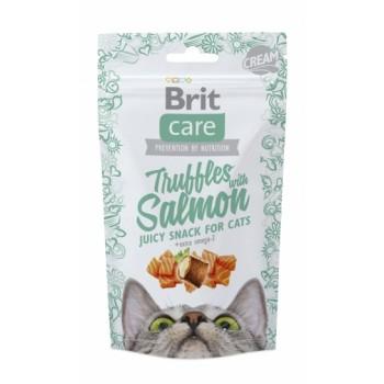 Brit / Брит Care лакомство д/кошек Truffles Salmon Подушечки с лососем, 50 гр