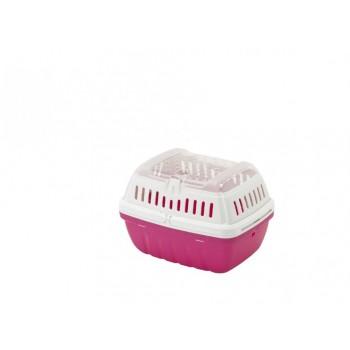 Moderna / Модерна Переноска-корзинка Hipster малая 17x23x16 см, ярко-розовый