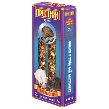 """Престиж """"Жесткие Палочки"""" лакомство для декоративных крыс и мышей с орехами, 150 гр"""