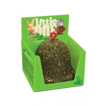 Little One Лакомство-игрушка для грызунов Колокольчик из садовой петрушки, пшеницы и красного проса, 150 гр