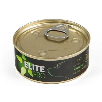 TitBit / ТитБит Консервы для собак Elite Pro Кролик 100 г