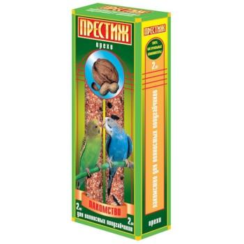 """Престиж """"Жесткие Палочки"""" лакомство для волнистых попугаев с орехами, 150 гр"""