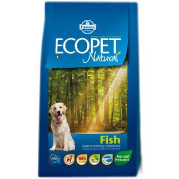 Farmina / Фармина ECOPET NATURAL Корм д/собак РЫБА 12 кг