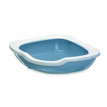 Imac / Имак туалет д/кошек с бортом угловой FRED, 51х51х15,5 см