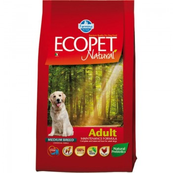 Farmina / Фармина ECOPET NATURAL ADULT Корм д/собак 12 кг