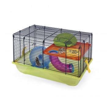 Imac / Имак клетка д/грызунов CRICETI 9, прозрачный салатовый, 45х30,5х29 см