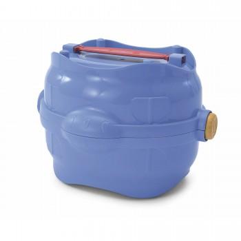 Imac / Имак сумка-контейнер EASY GO с гермет. крышкой д/корма и воды, синий, 25х19,5х17 см