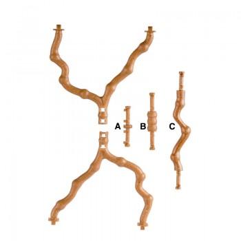 Imac / Имак жердочка-ветка д/птиц POSATOIO RAMO сборная, max 58х38х15,5 см