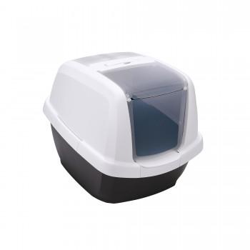 Imac / Имак туалет д/кошек закрытый MADDY, черный, 62х49,5х47,5 см