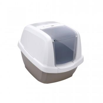 Imac / Имак туалет д/кошек закрытый MADDY, бежево-серый, 62х49,5х47,5 см