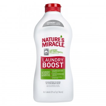 Nature's Miracle Уничтожитель пятен и запахов, для стирки NM LAUNDRY BOOST, 946 мл