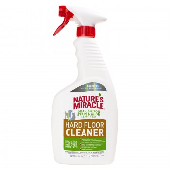 Nature's Miracle Уничтожитель пятен и запахов для всех видов полов NM Hard Floor Cleaner Dual Action S&O Remover, 709 мл