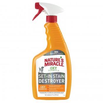 Nature's Miracle Уничтожитель пятен и запахов Окси-формула, для собак NM Dog Oxy Formula Spray, 709 мл