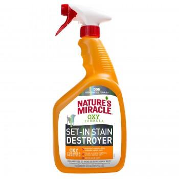 Nature's Miracle Уничтожитель пятен и запахов Окси-формула, для собак NM Dog Oxy Formula Spray, 946 мл