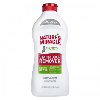Nature's Miracle Универсальный уничтожитель пятен и запахов для кошек NM S&O REMOVER JFC POUR, 946 мл