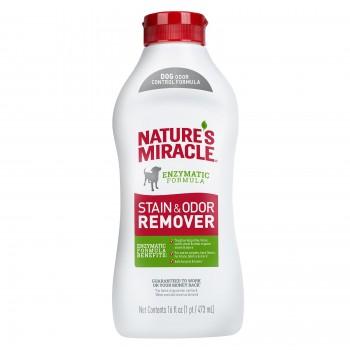 Nature's Miracle Универсальный уничтожитель пятен и запахов для собак NM S&O REMOVER DOG POUR, 473 мл