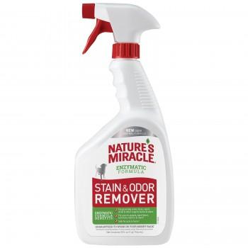 Nature's Miracle Универсальный уничтожитель пятен и запахов для собак NM S&O REMOVER DOG POUR, 946 мл