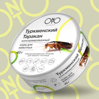 Onto / Онто Консервированный туркменский таракан, 40 гр
