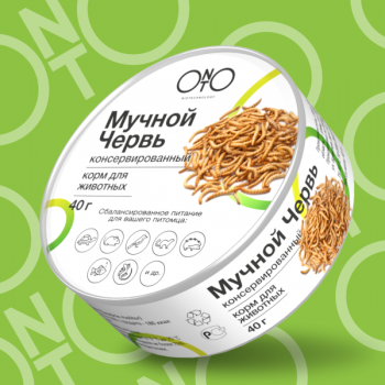 Onto / Онто Консервированный мучной червь, 40 гр