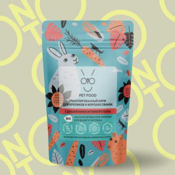 Onto / Онто Гранулированный корм для кроликов, 500 гр