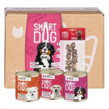Smart Dog / Смарт Дог Smart Box Мясной рацион для умных собак крупных пород, 1.5 кг