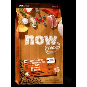 Now! / Нау! Контроль веса беззерновой корм для Собак с Индейкой, Уткой и овощами (Fresh Senior Recipe Grain Free 24/10), 2,72 кг