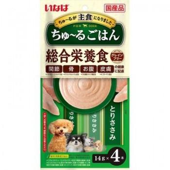 Inaba Чао Чуру пюре для собак куриное филе, 56 гр
