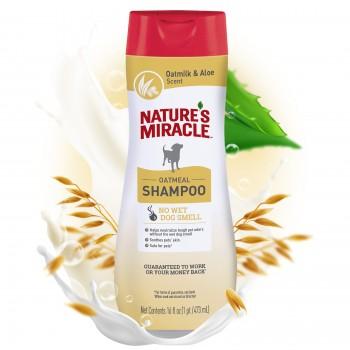 Nature's Miracle Шампунь с овсяным молочком, для собак NM SHAMPOO ODOR CONTROL OATMEAL, 473 мл