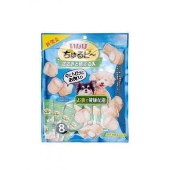 Inaba Чуру-Би запеч.трубочки для собак д/здоровья ЖКТ, куриное филе, 80 гр