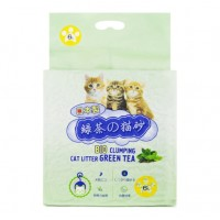 Hakase Arekkusu / Хакасе Наполнитель Зеленый чай комкующийся 6 л