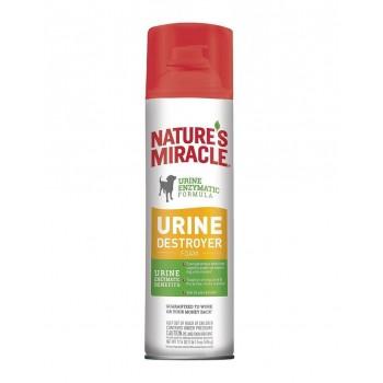 Nature's Miracle Уничтожитель мочи для собак, аэрозоль-пена NM Dog Urine Destroyer Foam, 518 мл