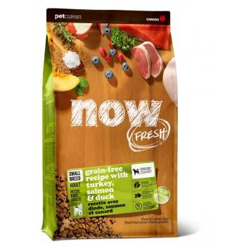 Now! / Нау! Беззерновой для Взрослых собак Малых пород с Индейкой, Уткой и овощами (Fresh Small Breed Adult Recipe Grain Free 27/17), 9,98 кг