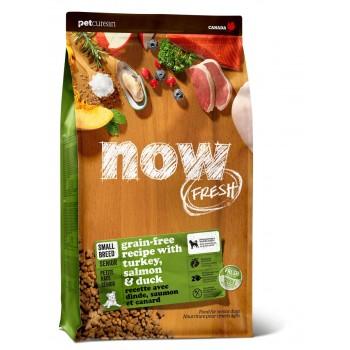 Now! / Нау! Беззерновой для Пожилых собак Малых пород с Индейкой, Уткой и овощами (Fresh Small Breed Senior Recipe Grain Free 24/11), 9,98 кг