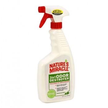 Nature's Miracle Уничтожитель запахов 3 в 1, с ароматом горной свежести, 710 мл