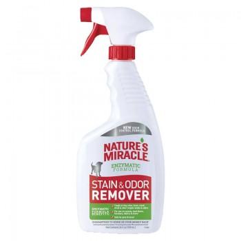 Nature's Miracle Универсальный уничтожитель пятен и запахов для собак, спрей NM Dog Stain&Odor Remover Spray, 709 мл