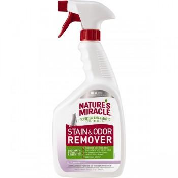 Nature's Miracle Универсальный уничтожитель пятен и запахов для кошек, спрей NM Cat Stain&Odor Remover Spray, 946 мл