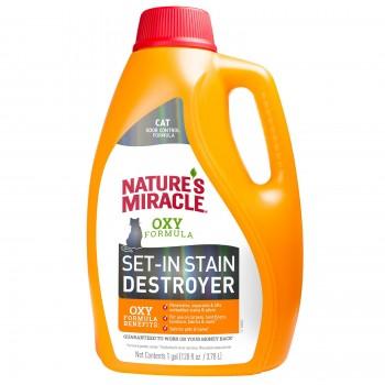 Nature's Miracle уничтожитель пятен и запахов от кошек NM JFC Orange-Oxy Formula, 3,7 л