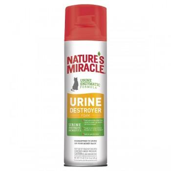 Nature's Miracle Уничтожитель мочи для кошек, аэрозоль-пена NM Cat Urine Destroyer Foam, 518 мл