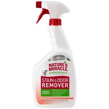 Nature's Miracle Универсальный уничтожитель пятен и запахов Дыня для собак, спрей NM Dog Stain&Odor Remover Spray Mel, 946 мл