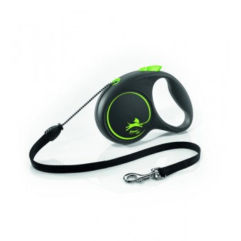 Рулетка Flexi Design S 5м*12кг (трос) зеленый