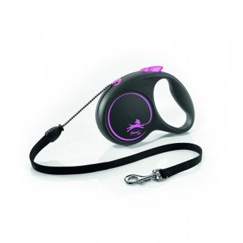 Рулетка Flexi Design S 5м*12кг (трос) розовый