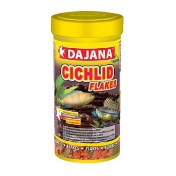 Dajana / Даяна Корм для рыб CICHLID FLAKES хлопья 100мл DP005A