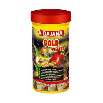 Dajana / Даяна Корм для рыб GOLD FLAKES хлопья 100мл DP001A2