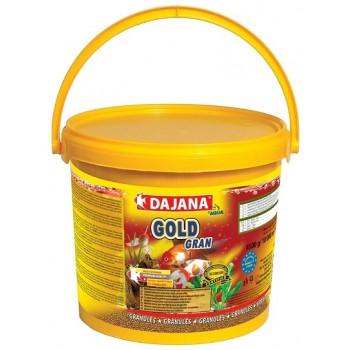 Dajana / Даяна Корм для рыб GOLD GRAN гранулы 10000мл, ведро (10л/5.2кг)1х12 DP101G
